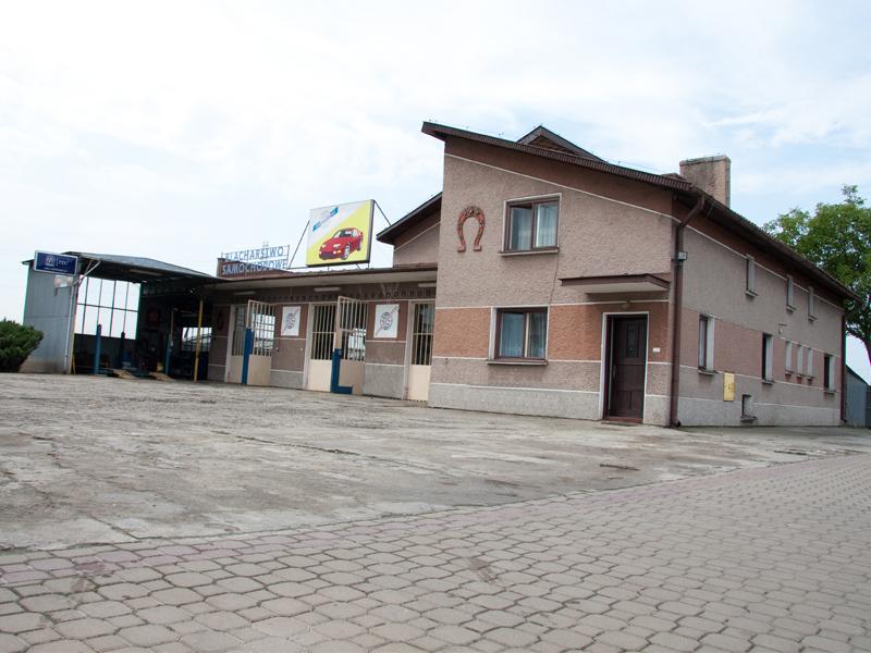 Stacja demontażu samochodów