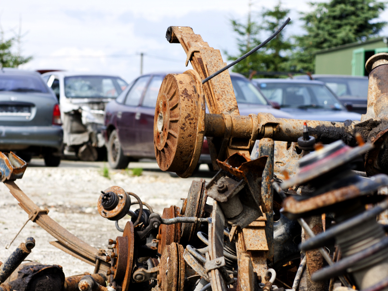 demontaż samochodów